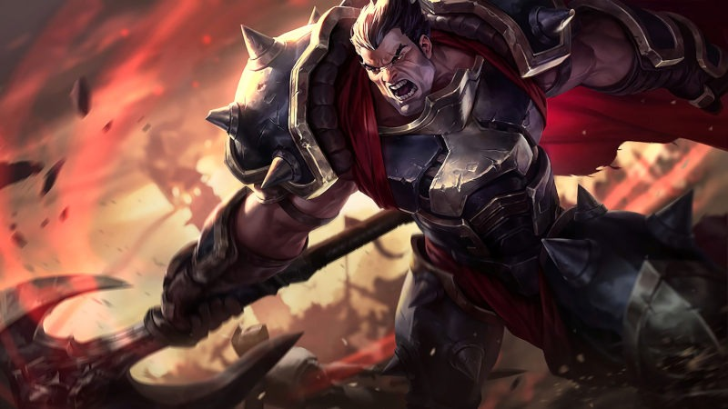 LOL: Guía media de Darius