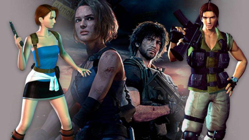 Personajes Resident Evil