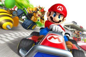 La saga de Mario Kart