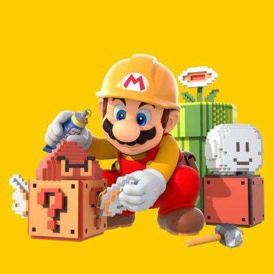 la saga de Mario Maker