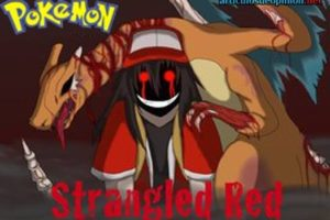 Creepypasta de Pokémon rojo estrangulado - Parte 1/3
