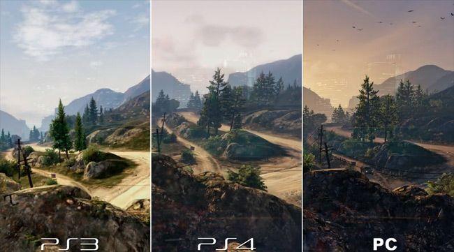 Grand Theft Auto V gráficos