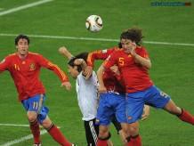 Puyol gol Alemania