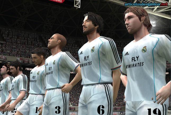 Editar el Real Madrid clásico en el PES