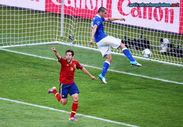 Jordi Alba gol contra Italia