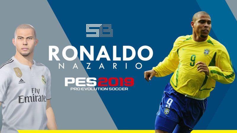 Editar Ronaldo en el PES