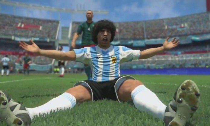 Editar Maradona en el PES