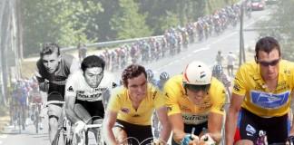 Indurain, Armstrong, Hinault