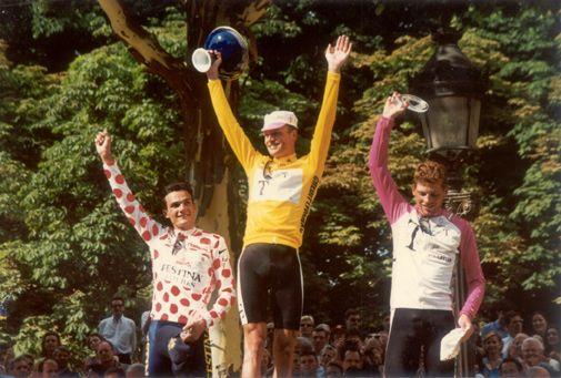Riis ganador Tour