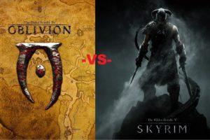 Oblivion VS Skyrim