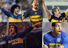 Editar el Boca Juniors clásico en el PES