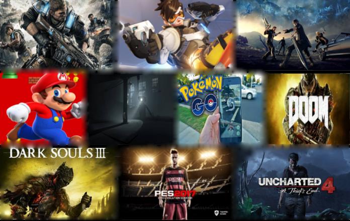Los mejores videojuegos de 2016