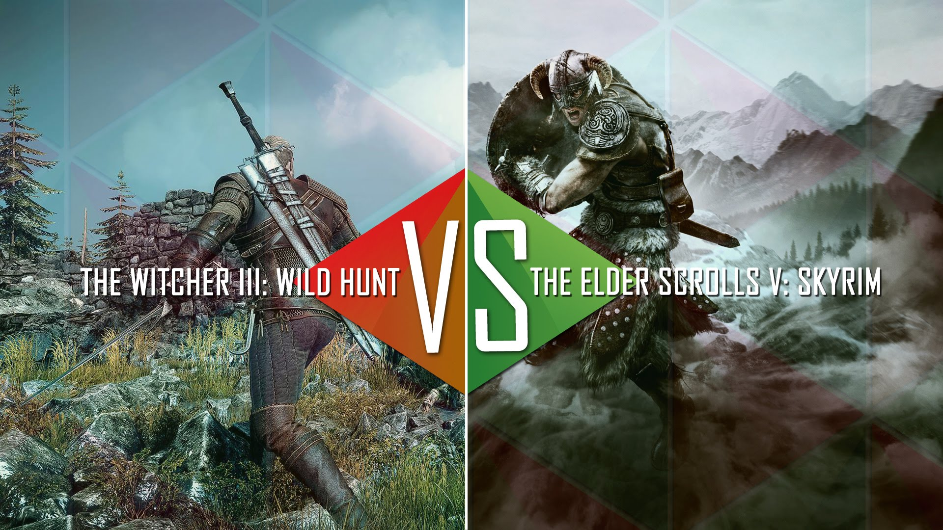 The Witcher 3 vs Skyrim