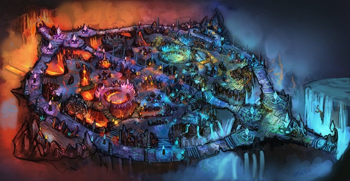 Mapas League Of Legends