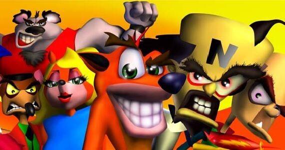 Crash Bandicoot amigos