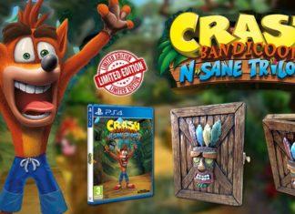 El rediseñado Crash Bandicoot N Sane Trilogy