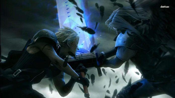 FFVII: Claud vs Sephiroth