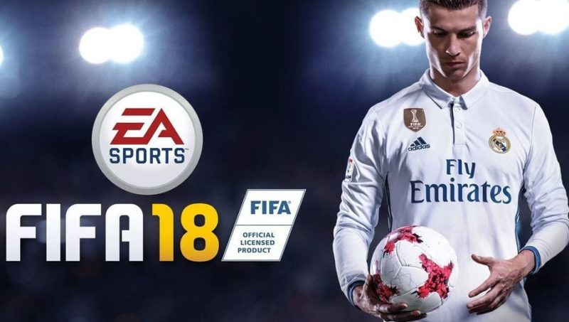 FIFA 18 portada