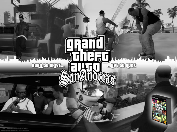 GTA San Andreas Black Edition