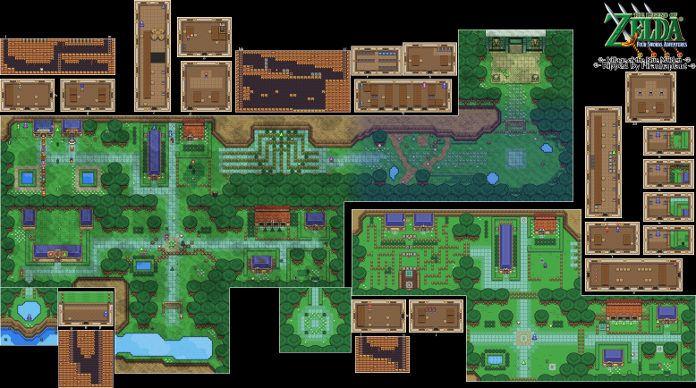Mapa de Zelda: Four Swords