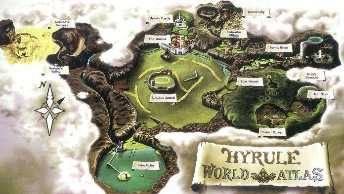 Mapa de Zelda Ocarina of Times