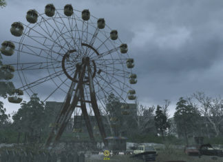 Misión en Chernobyl de Call of duty