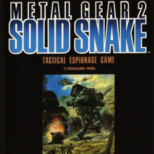 Portada Metal Gear 2