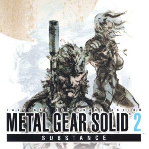 Portada Metal Gear Solid 2