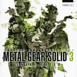 Portada Metal Gear Solid 3