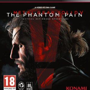 Portada Metal Gear Solid V