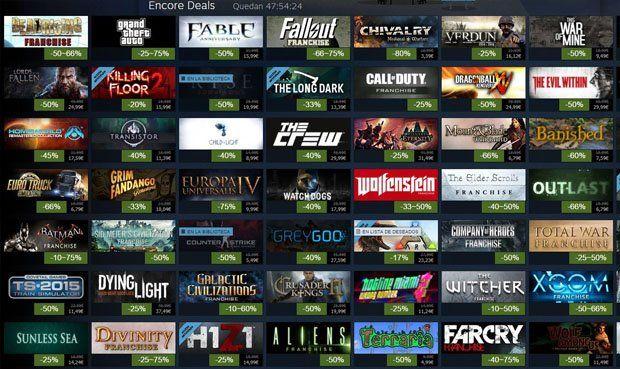 Videojuegos de Steam