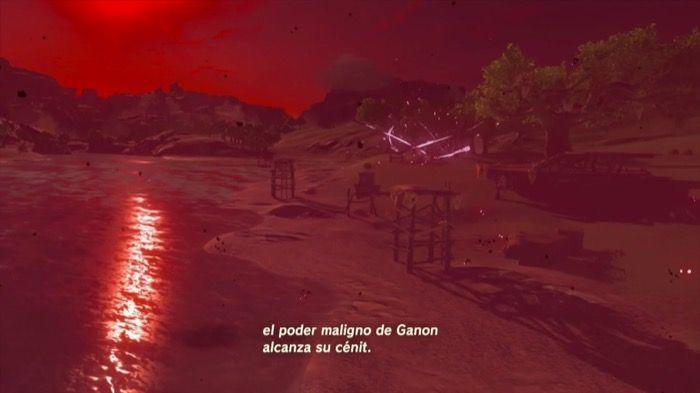 Luna carmesí de Breath of the Wild