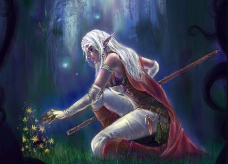 Diosa Elune