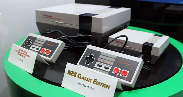 NES y NES Classic Mini