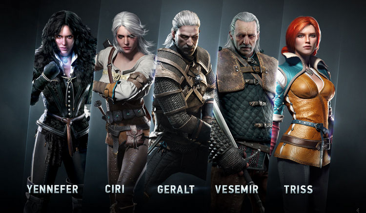 The Witcher - Personajes