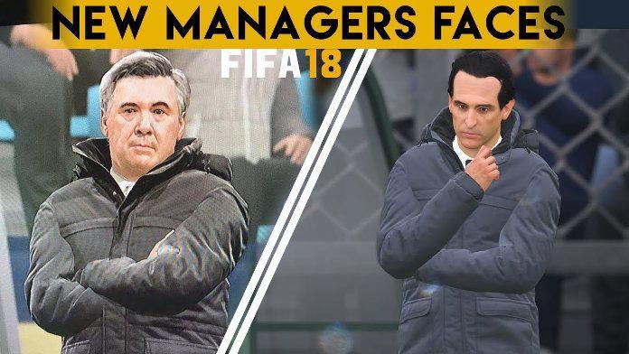 FIFA 18 - Entrenadores