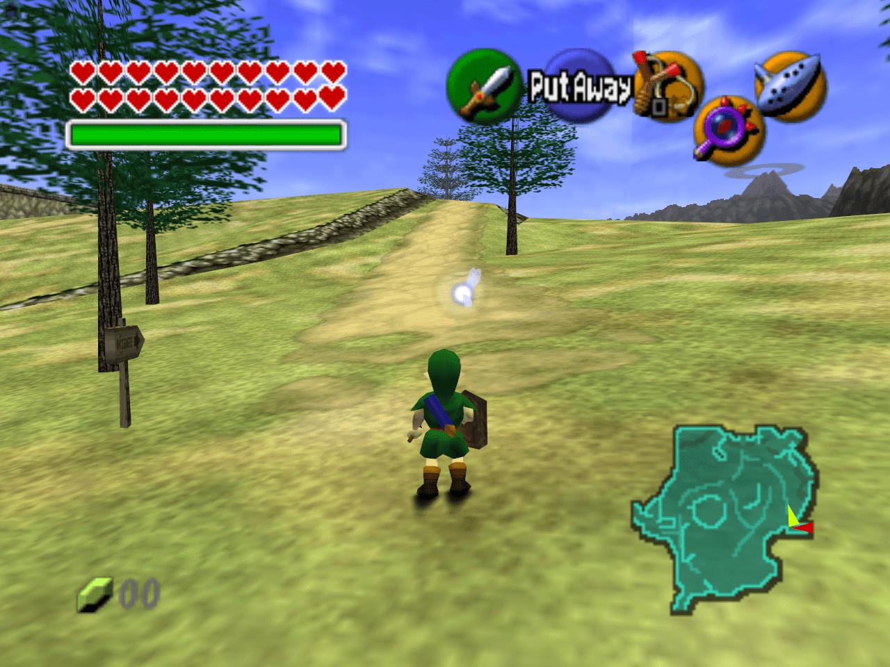 Zelda: Ocarina of Times