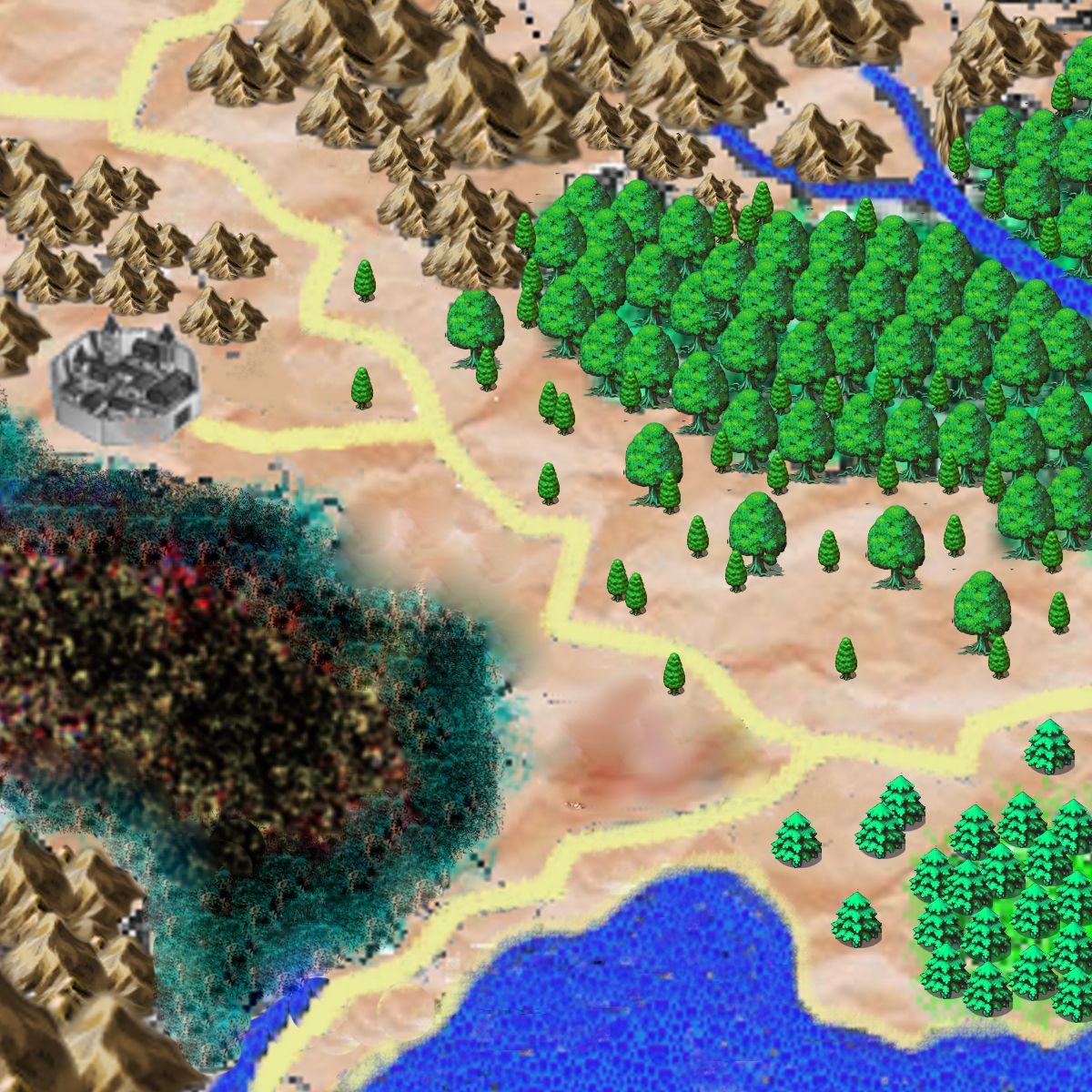 Mapa central