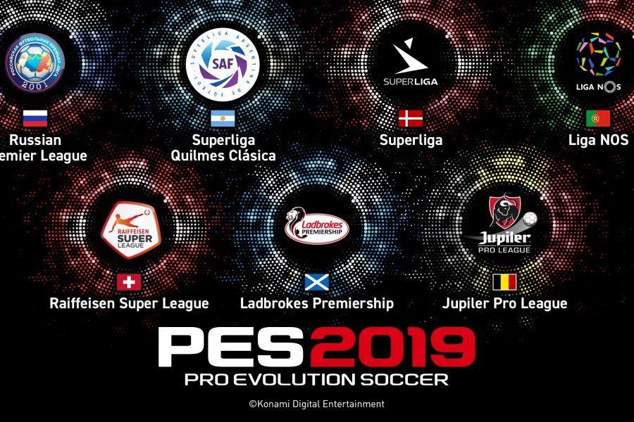 ¿Cuántas ligas tendrás PES 2019?