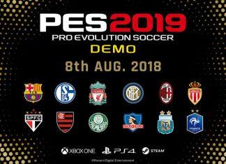 PES 2019 demo