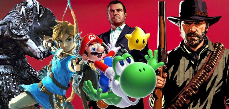 Los mejores videojuegos de la década 2010-2019
