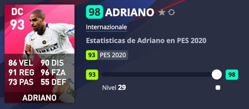 Adriano PES 2020