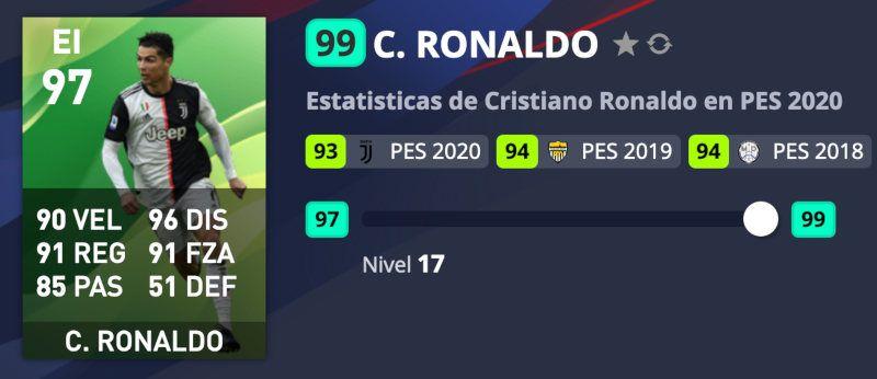 Cristiano Ronaldo PES 2020