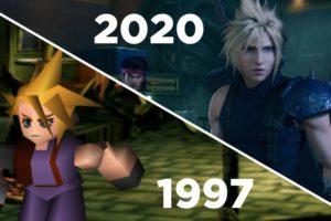 Final Fantasy VII vs FFVII Remake