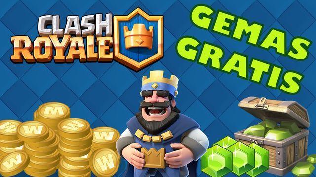 Oro y gemas gratis para Clash Royale
