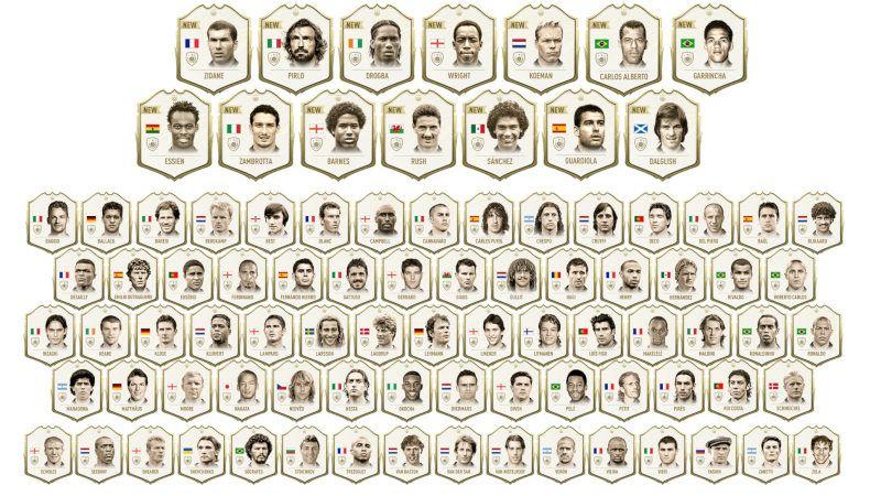 Iconos Fifa 20