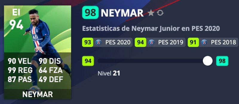 Neymar PES 2020
