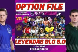 Option File Leyendas PES 2020