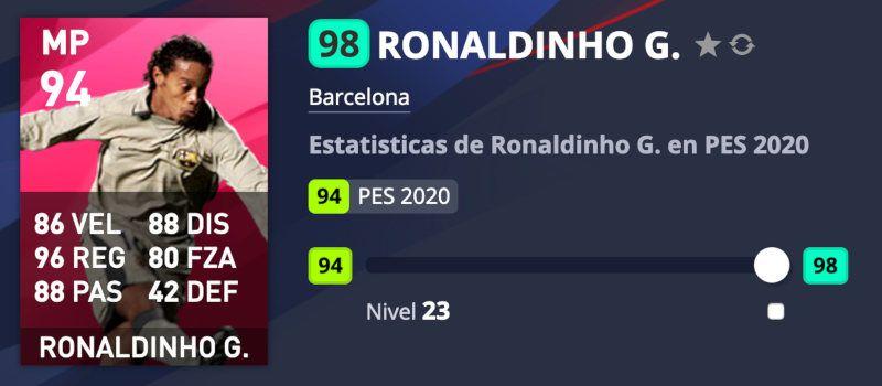 Ronaldinho PES 2020