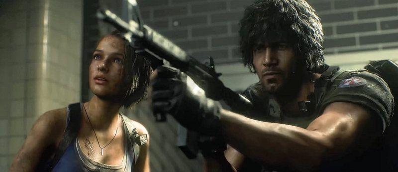 Carlos Oliveira de Resident Evil